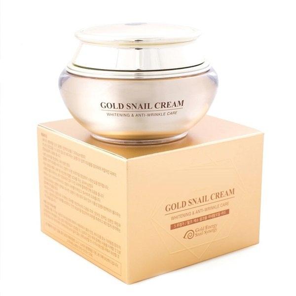 Kem Dưỡng Trắng Da Ốc Sên Vàng 24K Gold Snail Cream 2